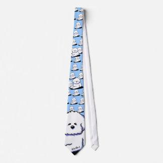 Bichon Frise Hals-Krawatte Krawatte