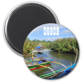 Bicol Provinz Runder Magnet 5,1 Cm