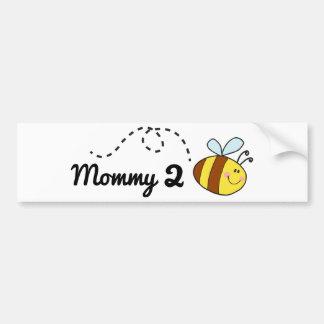 Biene der Mama-2 Autoaufkleber
