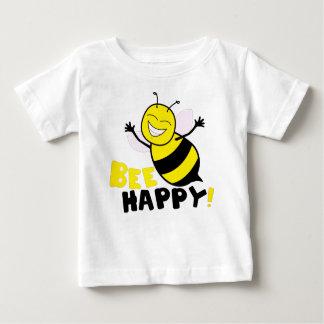 Biene glücklich baby t-shirt