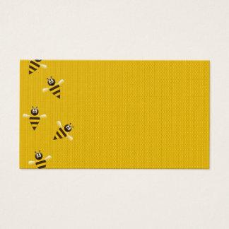 Biene glücklich visitenkarte