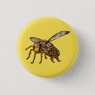 Biene Hiv'in Biene Runder Button 3,2 Cm