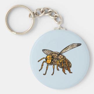 Biene Hiv'in Biene Schlüsselanhänger