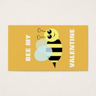 Biene mein MiniValentinsgruß Visitenkarte