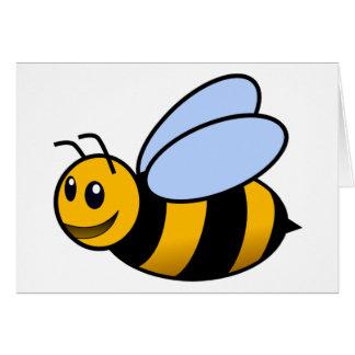 Biene - niedlich grußkarte