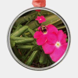 Biene Silbernes Ornament