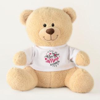 """Bienen-Bergwerk-"" Valentinstag-Teddybär Teddy"