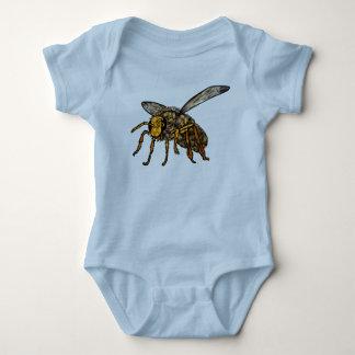Bienen-Bienenstock in der Biene Baby Strampler