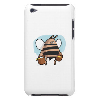 Bienen-Cartoon Barely There iPod Etuis