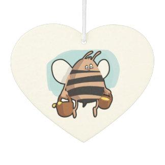 Bienen-Cartoon Lufterfrischer
