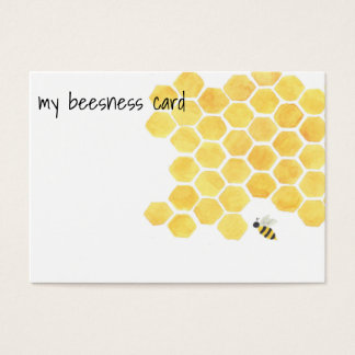 Bienen-Visitenkarte! Visitenkarte