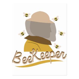Bienen-Wächter Postkarte