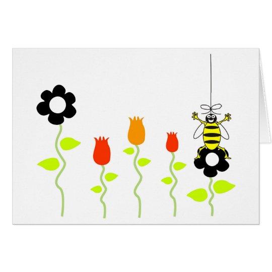 Bienenknie Mitteilungskarte