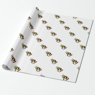 Bienenkönigin-Packpapier Geschenkpapier