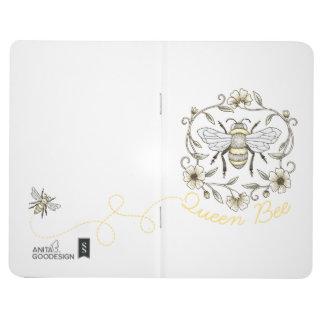 Bienenkönigin-Taschen-Zeitschrift Taschennotizbuch