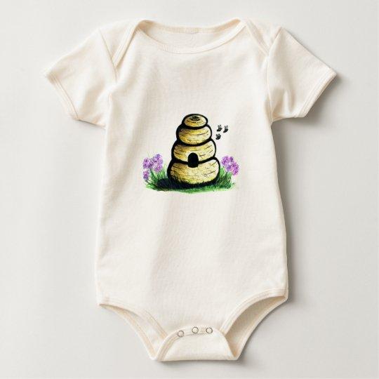 Bienenstock Baby Strampler