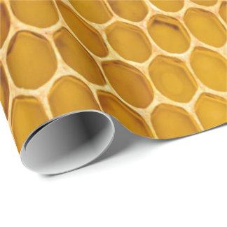 Bienenwabe Geschenkpapier