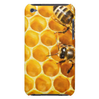 Bienenwabe und Bienen-Muster-Entwurf iPod Case-Mate Hülle