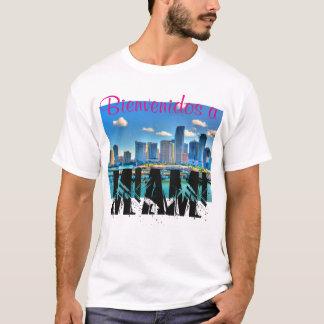 Bienvenidos ein T-Shirt Miami-Männer