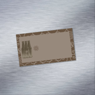 Bier-Gebräu-Visitenkarte-Magnetfreier raum Visitenkartenmagnet