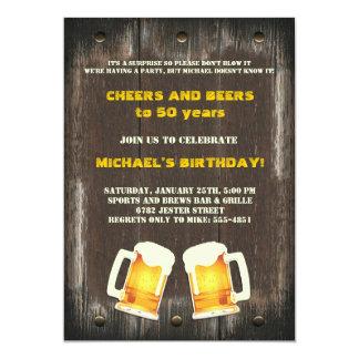 Bier jubelt Einladung zu
