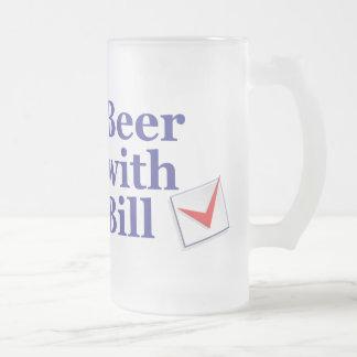Bier mit Bill: Mattierte Tasse