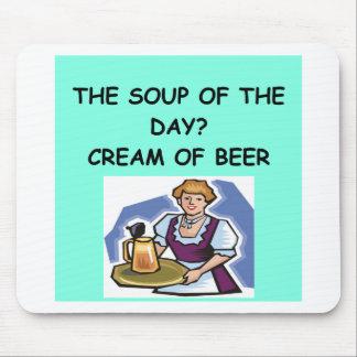 BIER-Suppe Mauspad