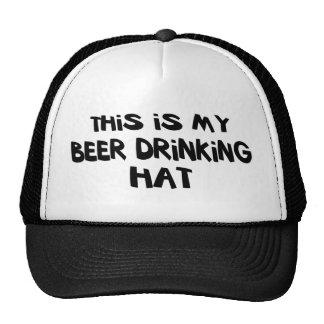Bier-trinkender Hut Kult Kappen