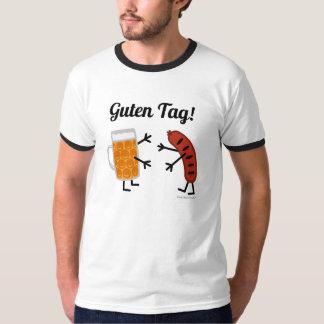 Bier u. Bratwurst - Guten Umbau! - Lustiger T-Shirt