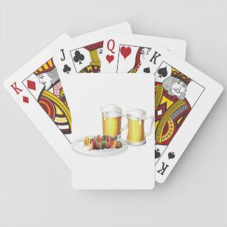 Bier-und Grill-Spielkarten Spielkarten