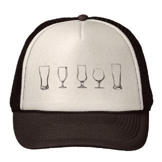 Bierglashut Caps