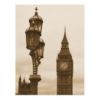 Big Ben im Hintergrund - Postkarte