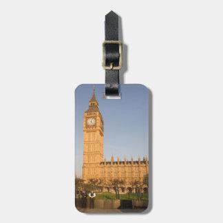 Big Ben im London-Andenken-Foto Gepäckanhänger