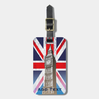 Big Ben - London, Großbritannien Gepäckanhänger