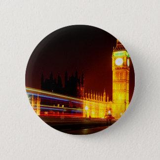 Big Ben, London Runder Button 5,7 Cm