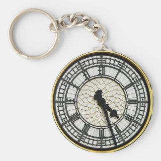 Big Ben-Ziffernblatt Schlüsselanhänger