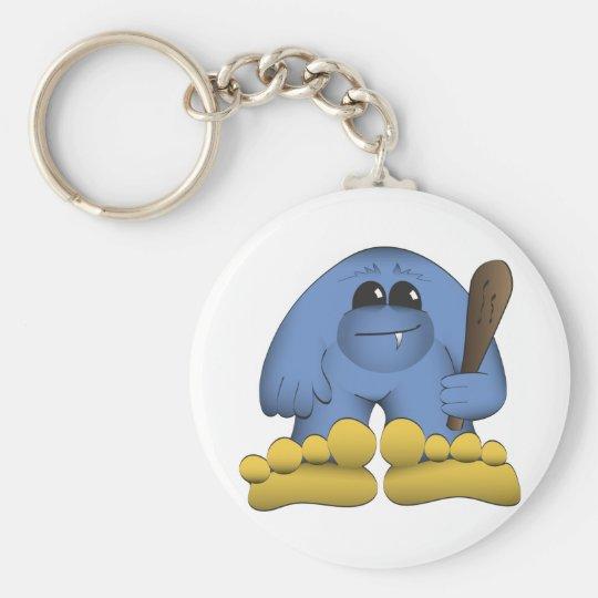 Bigfoot, der Verein hält Schlüsselanhänger