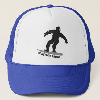 Bigfoot-Fahrten! Truckerkappe