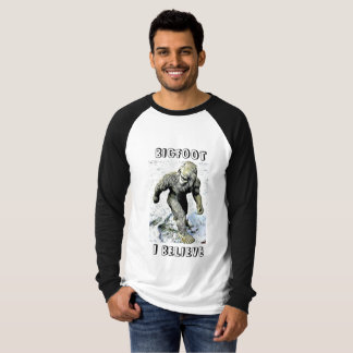 BIGFOOT I GLAUBEN Sasquatch Shirt