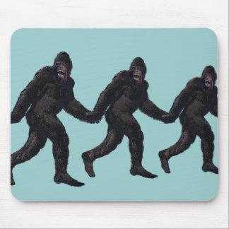 Bigfoot Sasquatch Yetti Mauspad