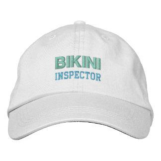BIKINI-INSPEKTOR-Kappe (Mehrfarben) Bestickte Baseballkappe