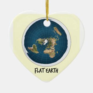 Bild der flachen Erde Keramik Ornament