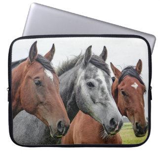 Bild der Pferde Laptop Sleeve