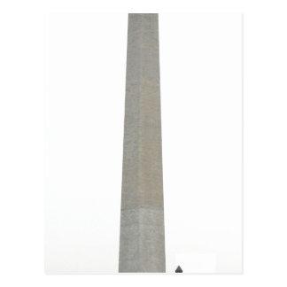 Bild des Washington-Monuments genommen durch Postkarte