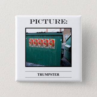Bild-Knopf-Nr. 13 Quadratischer Button 5,1 Cm