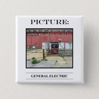 Bild-Knopf-Nr. 14 Quadratischer Button 5,1 Cm