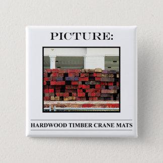 Bild-Knopf-Nr. 16 Quadratischer Button 5,1 Cm