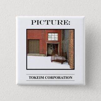 Bild-Knopf-Nr. 4 Quadratischer Button 5,1 Cm