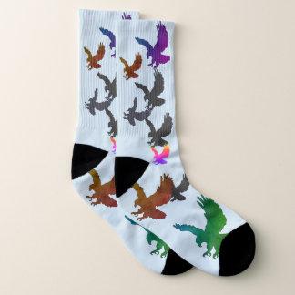 Bild-Socken mit Eagles Socken