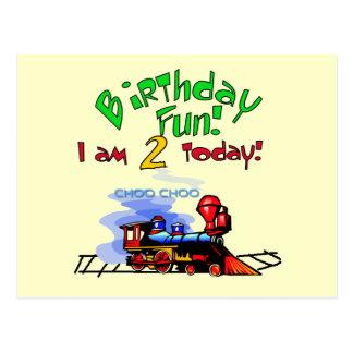 Bilden Sie 2. Geburtstags-T-Shirts und Geschenke Postkarte